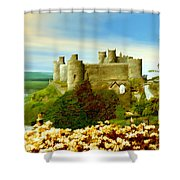Harlech Castle Shower Curtain