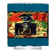 Harlem Renaissance Deja Vu Number 1 Shower Curtain