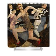 Harlequin Floor Show Shower Curtain