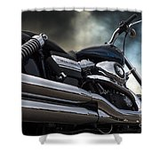 Harley Davidson 8 Shower Curtain