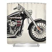 Harley Davidson Cvo Breakout 2014b Throw Pillow For Sale By Stephanie Hamilton