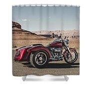 Harley-davidson Freewheeler Shower Curtain