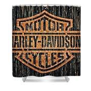 Harley - Davidson Shower Curtain