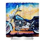 Harley Hog I Shower Curtain