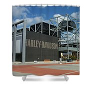 Harley Museum  Shower Curtain