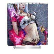 Harley Quinn Waiting For You - Da Shower Curtain