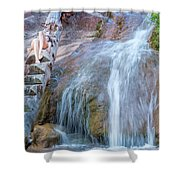 Harmony At The Falls Shower Curtain