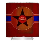 Harmony In Red Shower Curtain