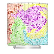 Harmony Magnified Shower Curtain