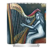 Harmony Of Absence Shower Curtain