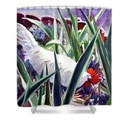 Harmony Rooster Shower Curtain