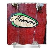 Harmony Uke Shower Curtain