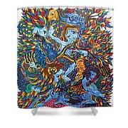 Harmony With Nature-2 Shower Curtain