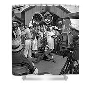 Harold Lloyd (1893-1971) Shower Curtain