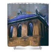 Harold Washington Library 539 2 Shower Curtain
