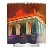 Harold Washington Library 539 4 Shower Curtain