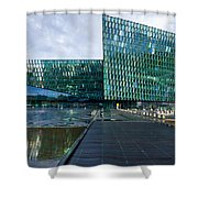 Harpa Concert Hall - Iceland Shower Curtain