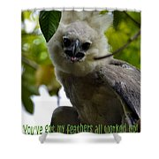 Harper Eagle Shower Curtain