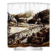 Harpers Ferry Shower Curtain by Bill Cannon
