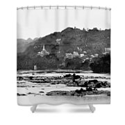 Harper's Ferry From Across The Potomac Shower Curtain