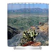 Harquahala Valley Shower Curtain