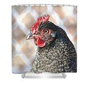 Harriet 2 Shower Curtain