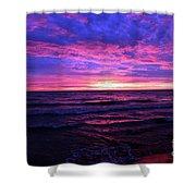 Harrington Beach Sunrise 3 Shower Curtain