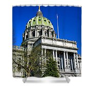 Harrisburg Capitol Building Shower Curtain