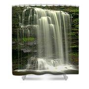 Harrison Wrights Falls Shower Curtain