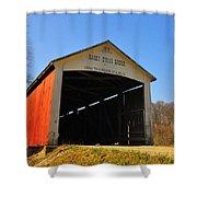 Harry Evans Covered Bridge Shower Curtain