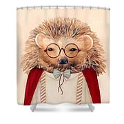 Harry Hedgehog Shower Curtain