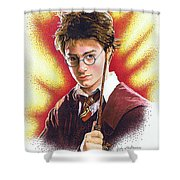 Harry Potter The Wizard Shower Curtain
