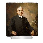 Harry Truman Shower Curtain