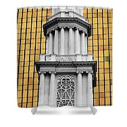 Hartford Gold Two Shower Curtain