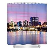 Hartford Purple Twilight Shower Curtain