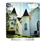 Hartsburg Baptist Church Shower Curtain