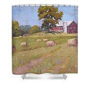 Hartville, Ohio Farm Shower Curtain
