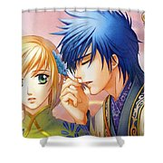 Harukanaru Toki No Naka De Shower Curtain