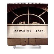 Harvard Hall #2 Shower Curtain