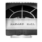 Harvard Hall Shower Curtain