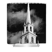 Harvard Memorial Church Steeple Shower Curtain