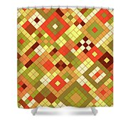 Harvest Gold Shower Curtain