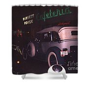 Harvest House Cafeteria At River Roads Mall  Shower Curtain