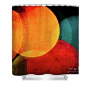 Harvest Moons Square Shower Curtain