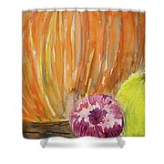 Harvest Still Life Shower Curtain