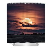 Harvestmoon Shower Curtain