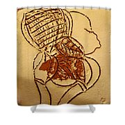 Has Been - Tile Shower Curtain