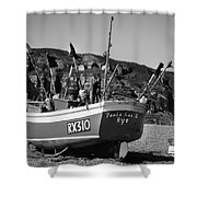 Hastings Boat 4 Shower Curtain