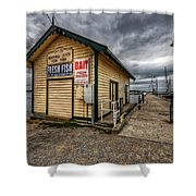 Hastings Jetty Shower Curtain