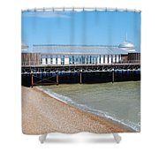 Hastings Pier Pavilion Shower Curtain